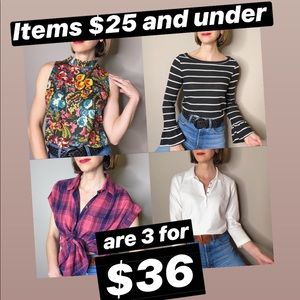Click for details! 3 for $36!